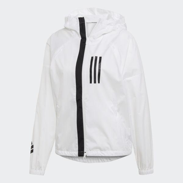 amortiguar Cha Pequeño  adidas W.N.D. Jacket - White | adidas US