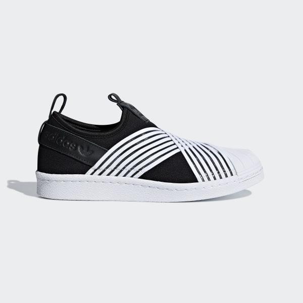 adidas Superstar Slip on Schoenen zwart   adidas Officiële Shop