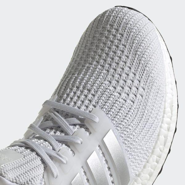 UltraBoost 4.0 DNA 'White Silver Metallic'