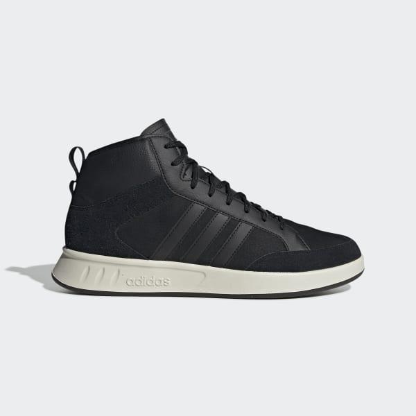 adidas Кроссовки COURT 80 S MID - черный | adidas Россия