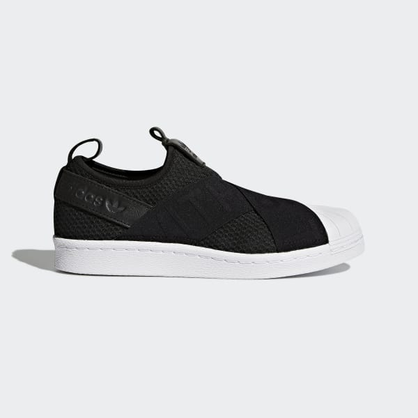 adidas Superstar Slip-on Shoes - Black  65f639a1ccdd