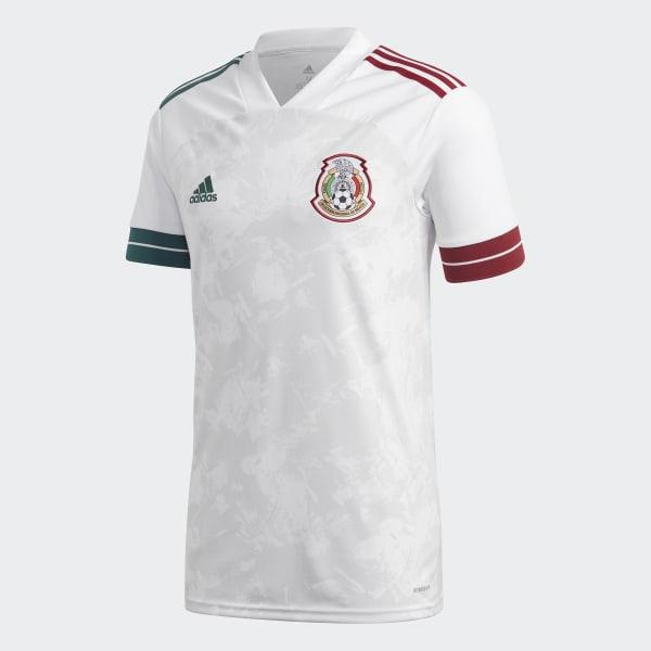adidas Mexico Away Jersey - White | GC7940 | adidas US