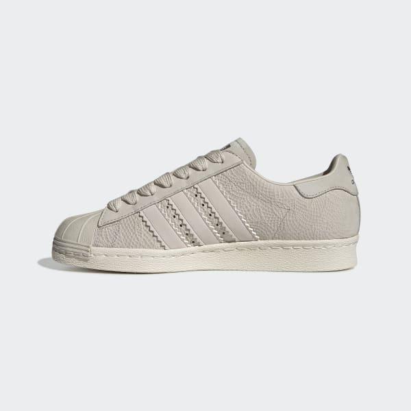 adidas Superstar 80s Shoes - Beige