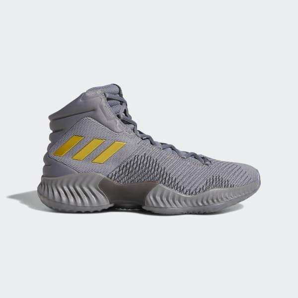 Men Latest adidas Pro Bounce 2018 BlackWhite Basketball