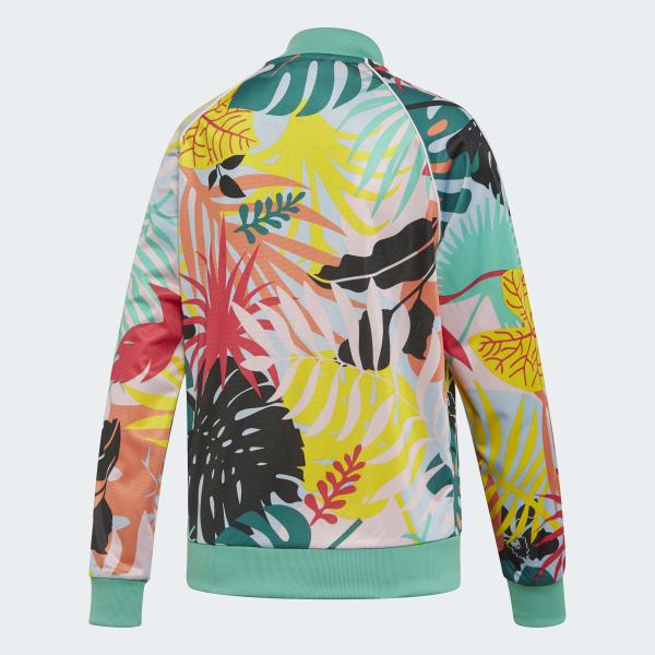 20e2c39ab43 adidas Tropicalage SST Graphic Track Jacket - Multicolor | adidas US