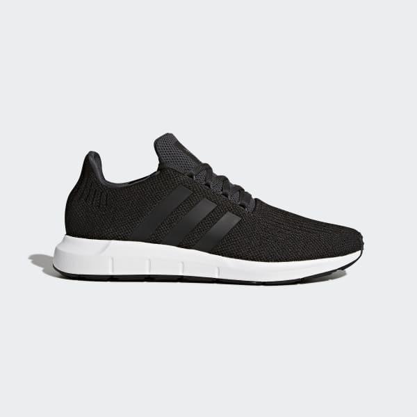 adidas Swift Run Shoes - Black | adidas UK