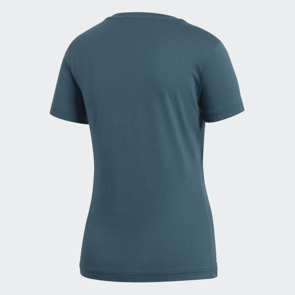 Camiseta 3-Stripes Palmeiras Feminina - Verde adidas  315da0552c783