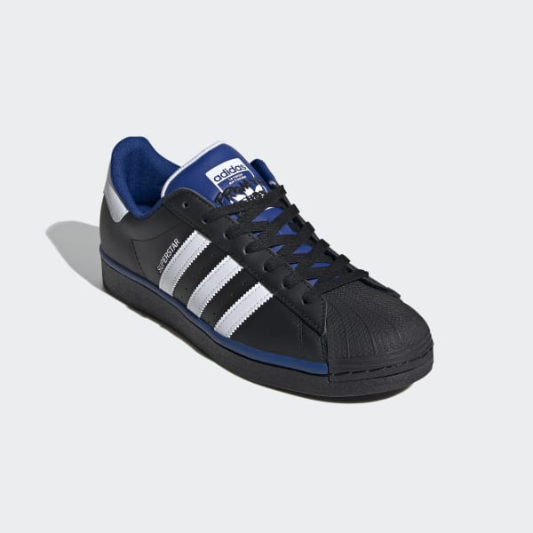 Superstar Core Black and Royal Blue