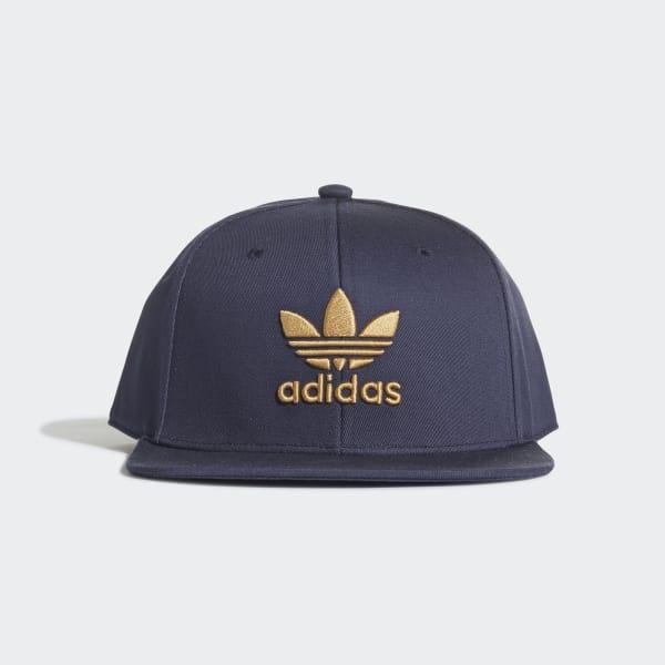 2bf0c74d3ca58 adidas Snapback Trefoil Cap - Blue