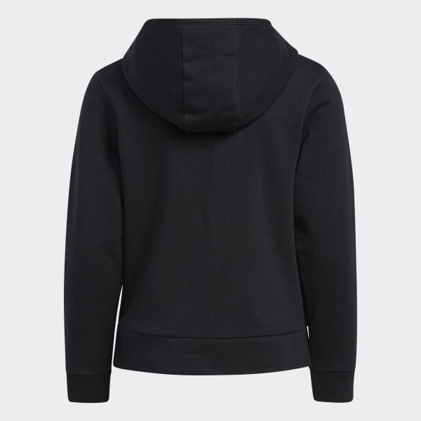 adidas Short Sleeve Set-in Ctn Tee Black S//P