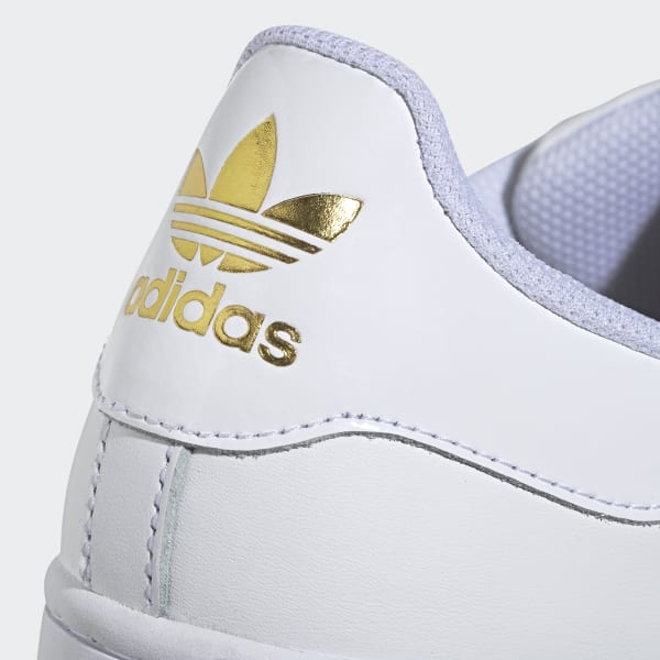 Chaussures Superstar Bold blanches et or pour femme   adidas France