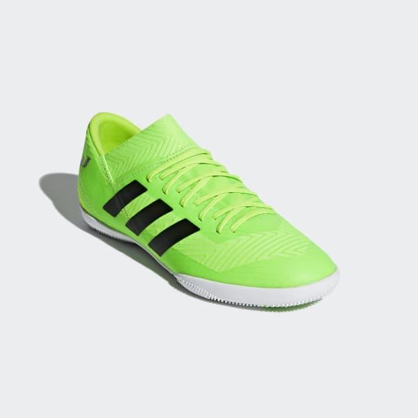 amargo Concesión equilibrio  adidas Kids Nemeziz Messi Tango Indoor Soccer Shoes Solar Green/Core Blk  DB2392 Youth