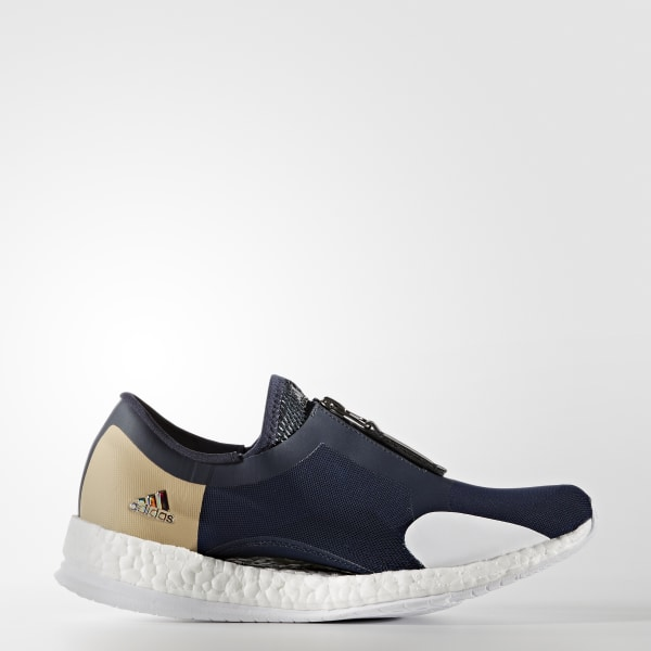 75848d5fa0b96 adidas Pure Boost X Trainer Zip Shoes - Blue