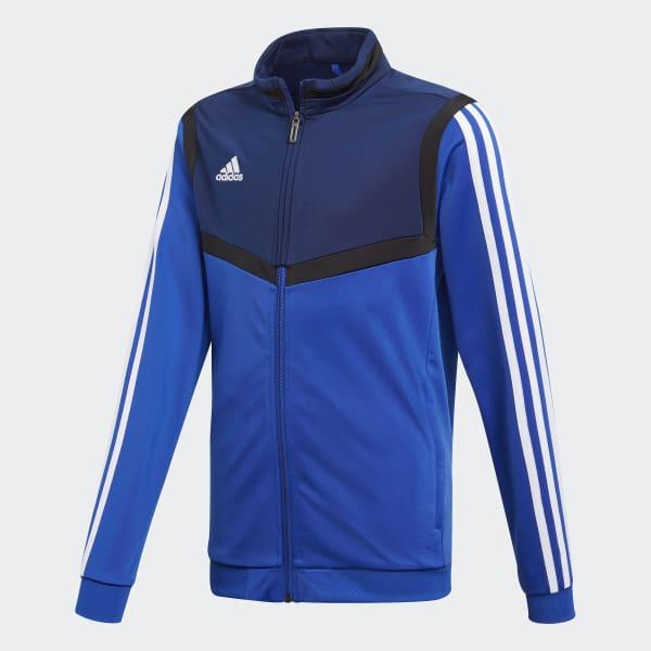 adidas Tiro 19 Polyester Training Jacket(blau) Fussball