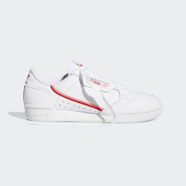adidas Superstar W Originals Women's Classic Shoes WhiteRed