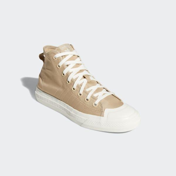 adidas Nizza Hi RF Releasing Soon in Pale Nude - The