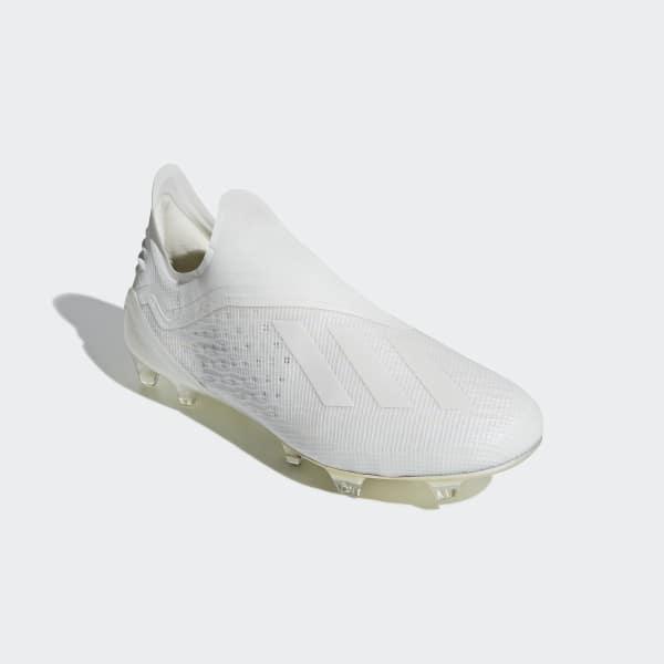 Cartas credenciales dictador Negrita  Zapatos de Fútbol X 18+ Terreno Firme - Blanco adidas   adidas Chile