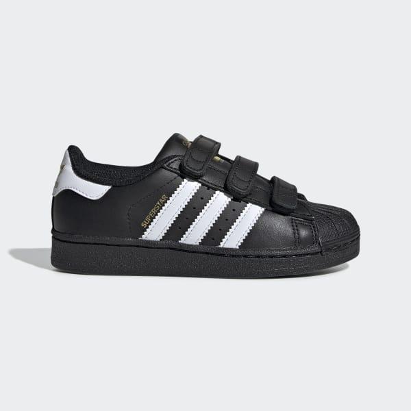 a6585d59d91 adidas Superstar Foundation Shoes - Black