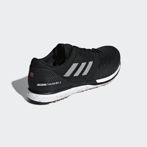 new styles f4e3e 499e9 adidas Adizero Takumi Sen 5 Shoes - Black   adidas UK