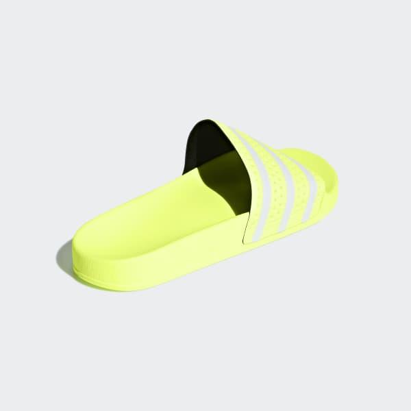070ae92b4dd adidas Adilette Slides - Yellow | adidas Australia