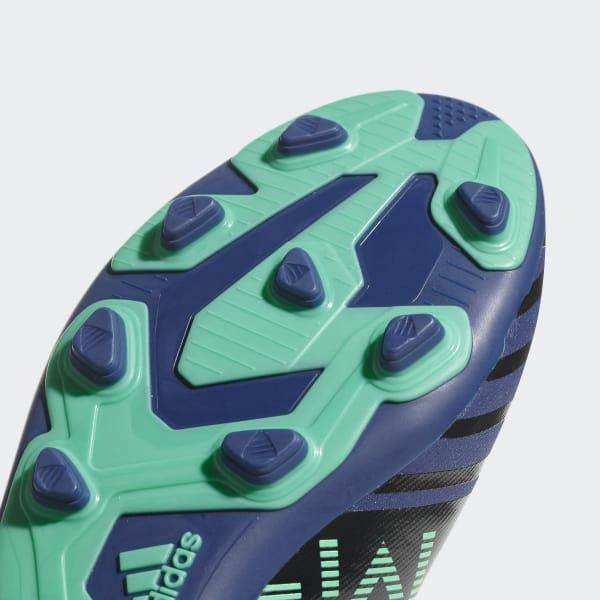 de0c06c994 Chuteira Nemeziz Messi 17.4 Campo Infantil - Azul adidas