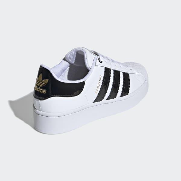 violento Danubio estafador  adidas Superstar Bold Women's Shoes - White | adidas Australia