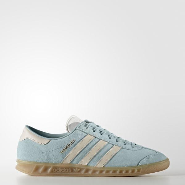 info for ceea0 73298 adidas Hamburg Shoes - Blue   adidas UK