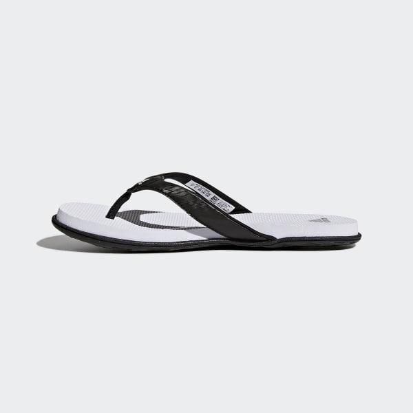 51a3fa0ca853e3 adidas Cloudfoam One Thong Sandals - Black