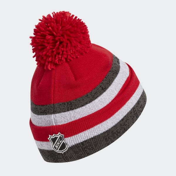 Hurricanes Team Cuffed Pom Beanie