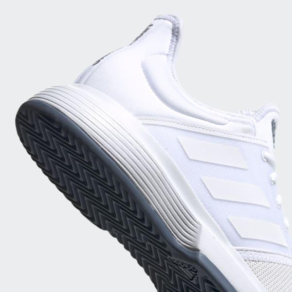adidas GameCourt sko Hvit | adidas Norway