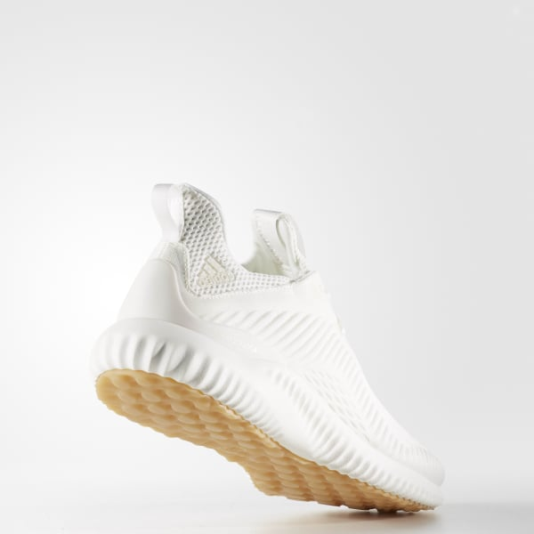 066097791 adidas Alphabounce EM Undye Shoes - White