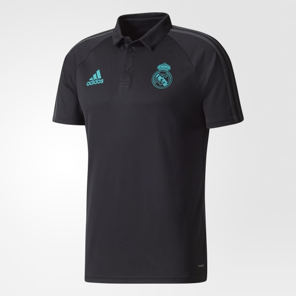 adidas Camiseta Polo Real Madrid - Negro  28ef79d8e7711