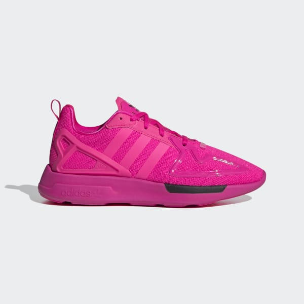adidas ZX 2K Flux Shoes - Pink | adidas UK