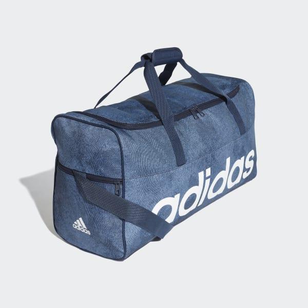 conocido estoy enfermo Aire acondicionado  adidas Linear Performance Duffel Bag Medium - Blue | adidas Malaysia