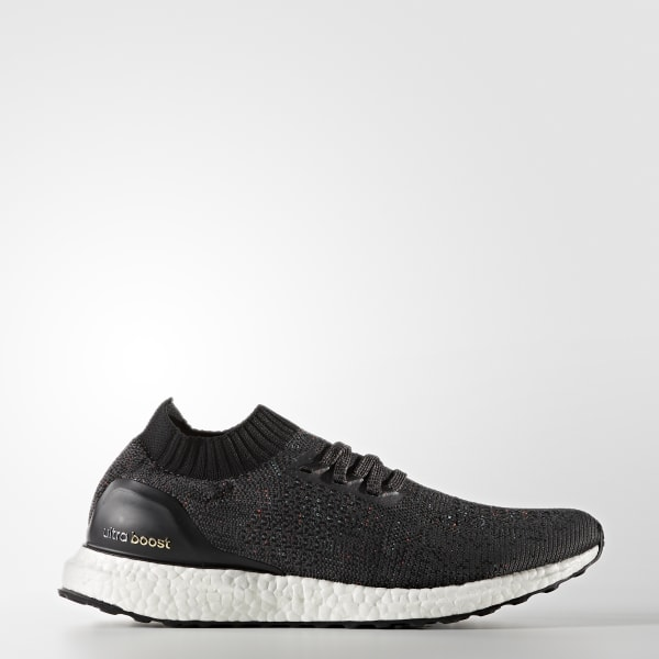 adidas Ultra Boost Uncaged - Men's Running Shoes - Solid Grey/Black BB4486