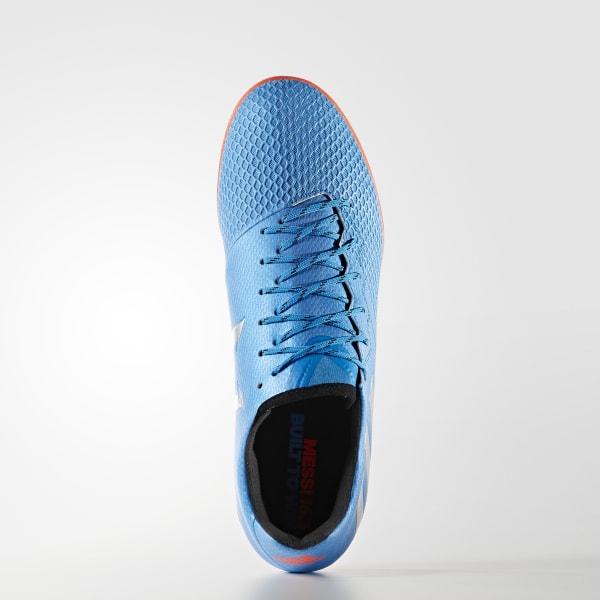6aef9cd41e32a adidas Men s Messi 16.3 Indoor Shoes - Blue