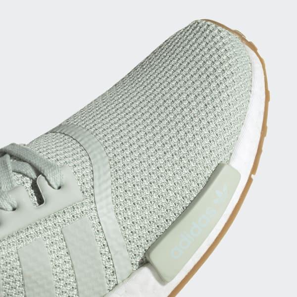 adidas nmd r1 weiß mint beige