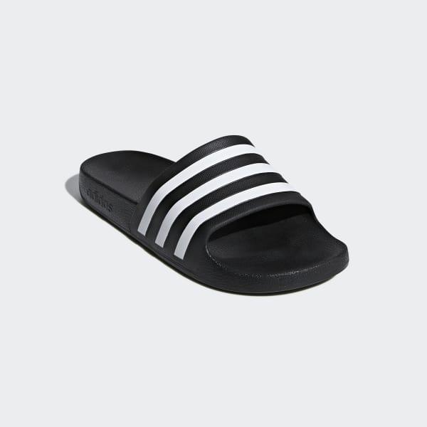 adidas Adilette Aqua Slides - Black