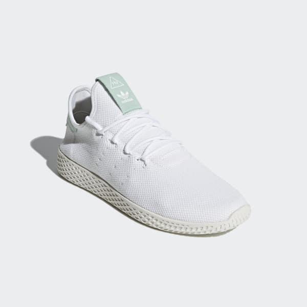 03786b61e4c37 adidas Pharrell Williams Tennis Hu Shoes - White