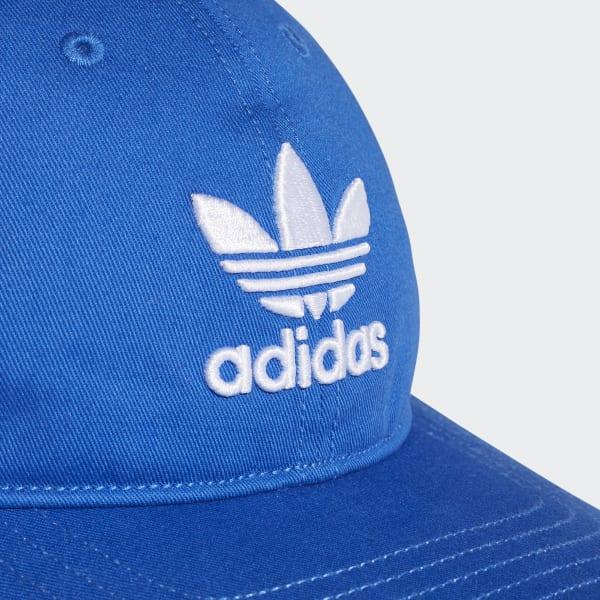 Boné Trefoil Classic - Azul adidas  b33e9edddd6