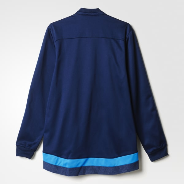 adidas Chamarra Anthem Real Madrid - Azul  11fae55148c0c