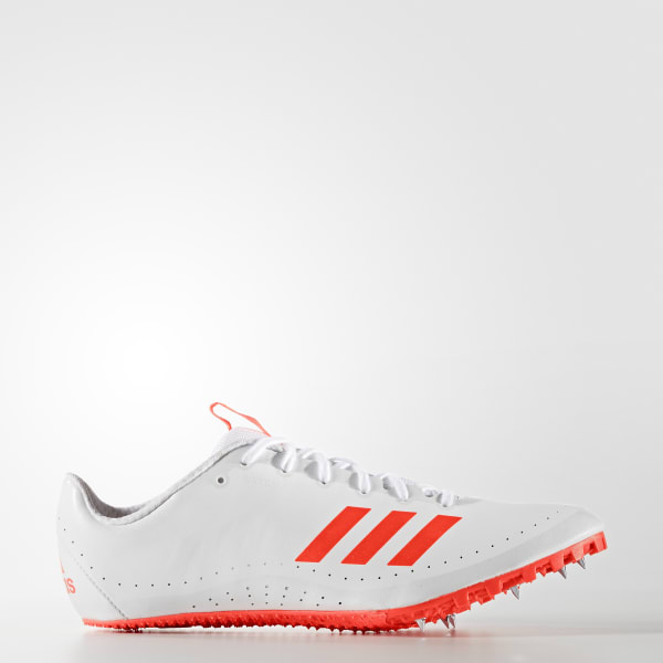 adidas Men's Sprintstar Track and Field Shoes Solar Red/Footwear White