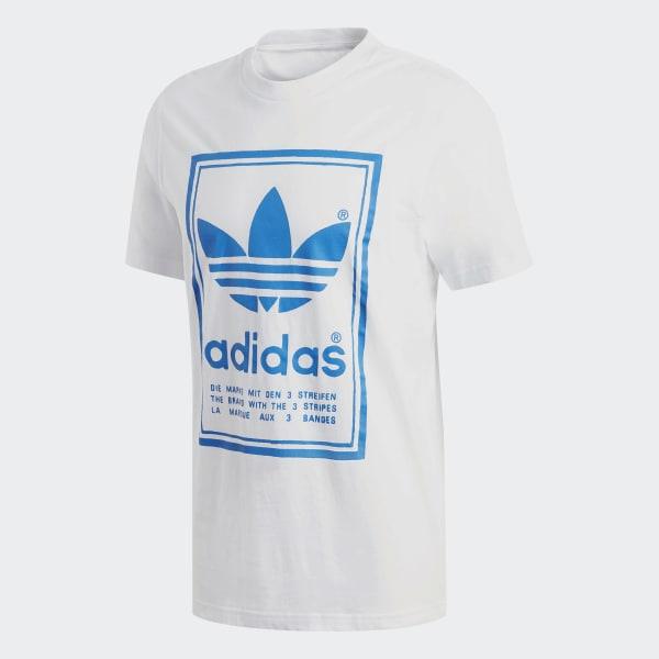 e7cba42973 Camiseta Vintage - Branco adidas