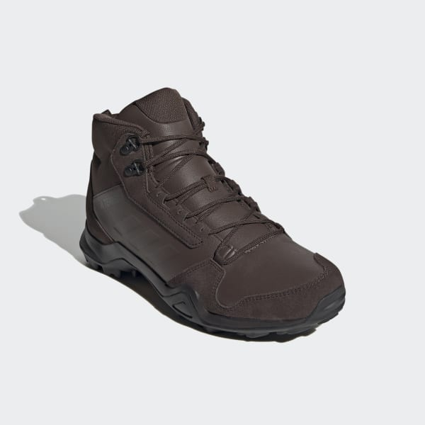 Anzai tema Pagar tributo  adidas Terrex AX3 Mid Leather Hiking Shoes - Brown | adidas UK