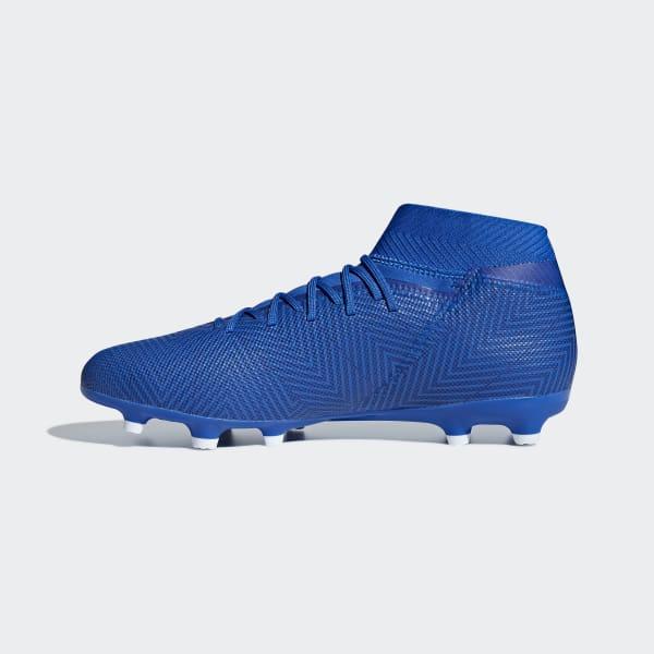 3276eefb7a adidas Botas de Futebol Nemeziz 18.3 – Piso Firme - Azul