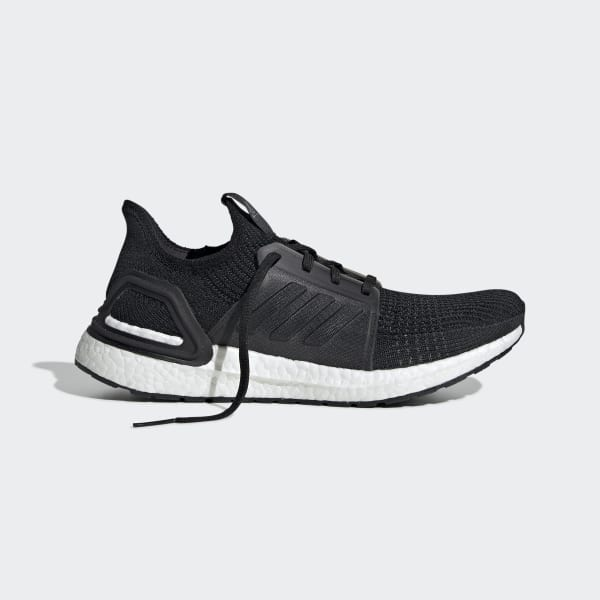 Details about Adidas UltraBOOST 19 m New Men's Ultra Boost Running Shoes Black White G54009