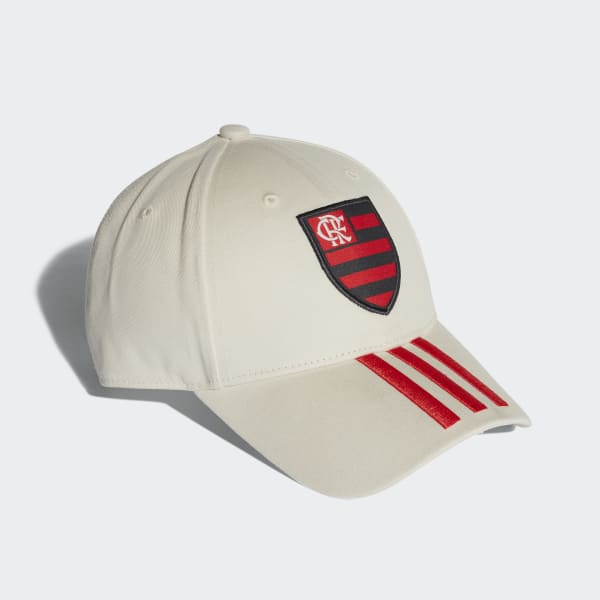 Boné 3-Stripes CR Flamengo - Branco adidas  ccaa7ded9a66c