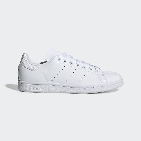 Women's Stan Smith White, Burgundy & Black Shoes | adidas US