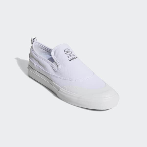 c3dc910f Zapatillas Matchcourt Slip-on ADV - Blanco adidas | adidas Chile