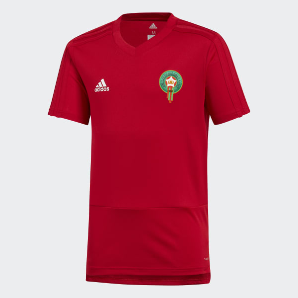 adidas Morocco Training Jersey Red | adidas Belgium